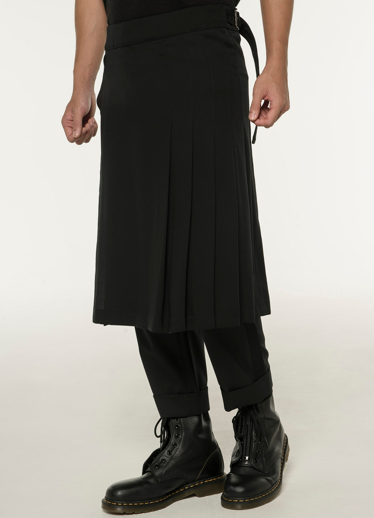 Lyocell Burberry Tacked Skirt