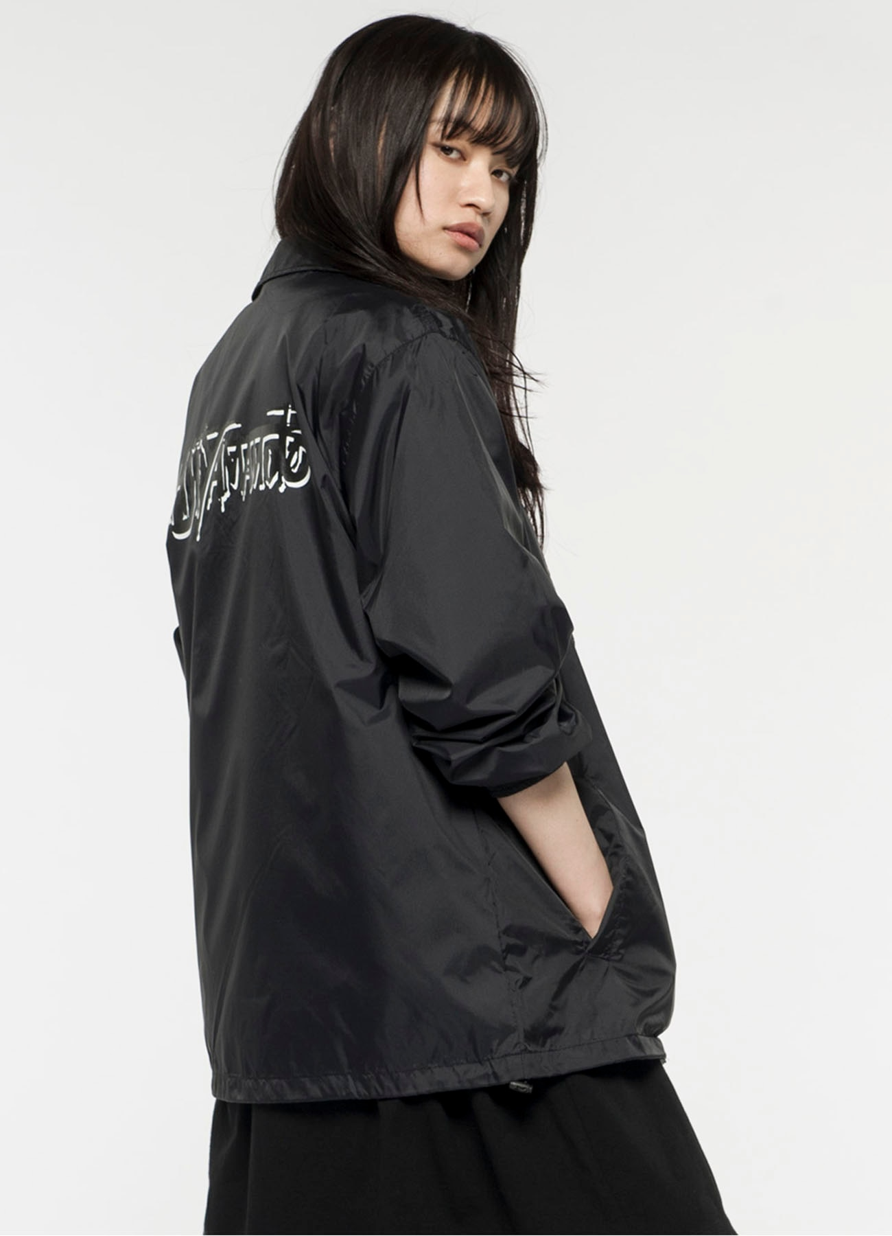 Logo Coach Jacket