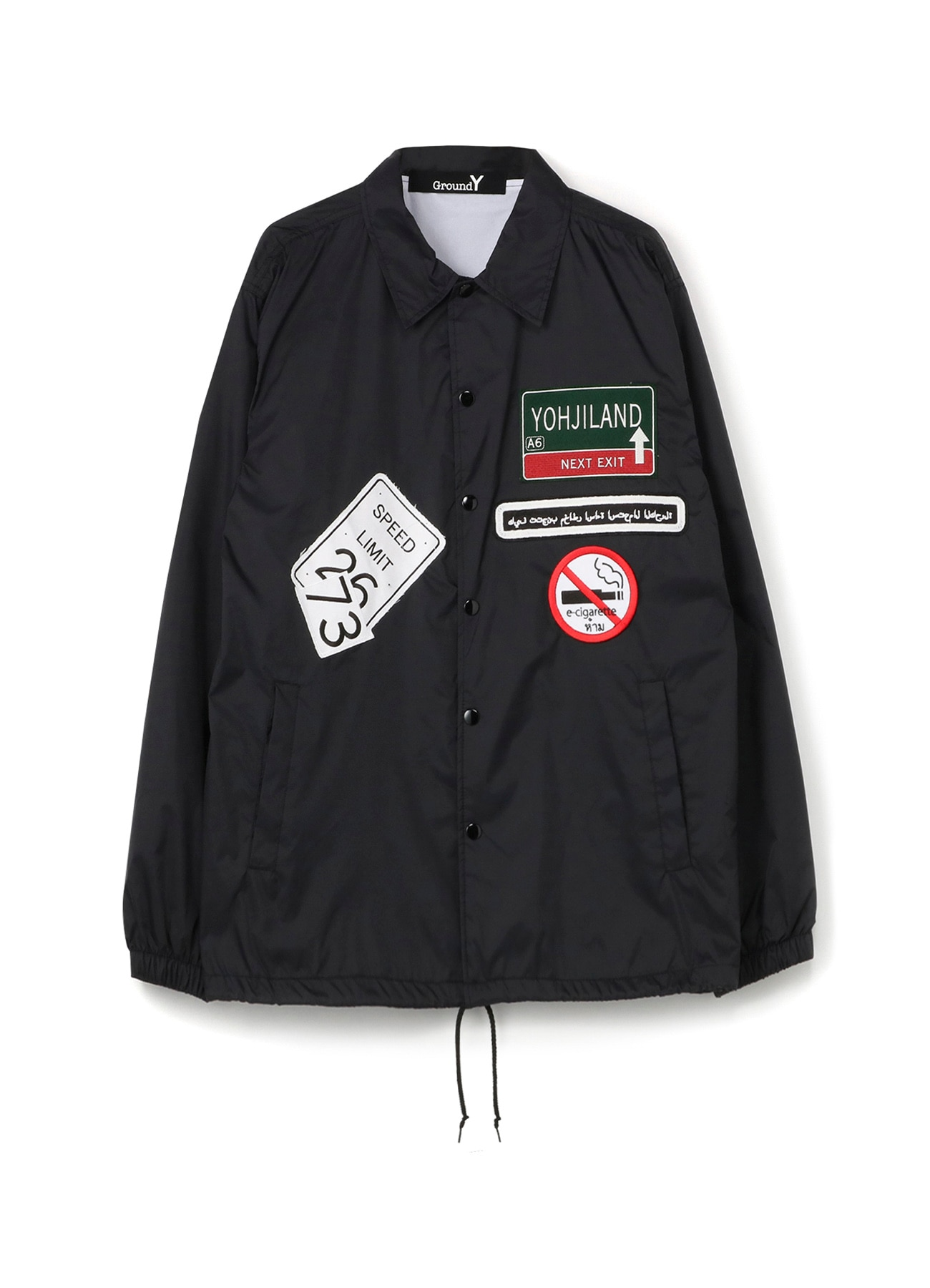 Wappen Nylon Coach Jacket