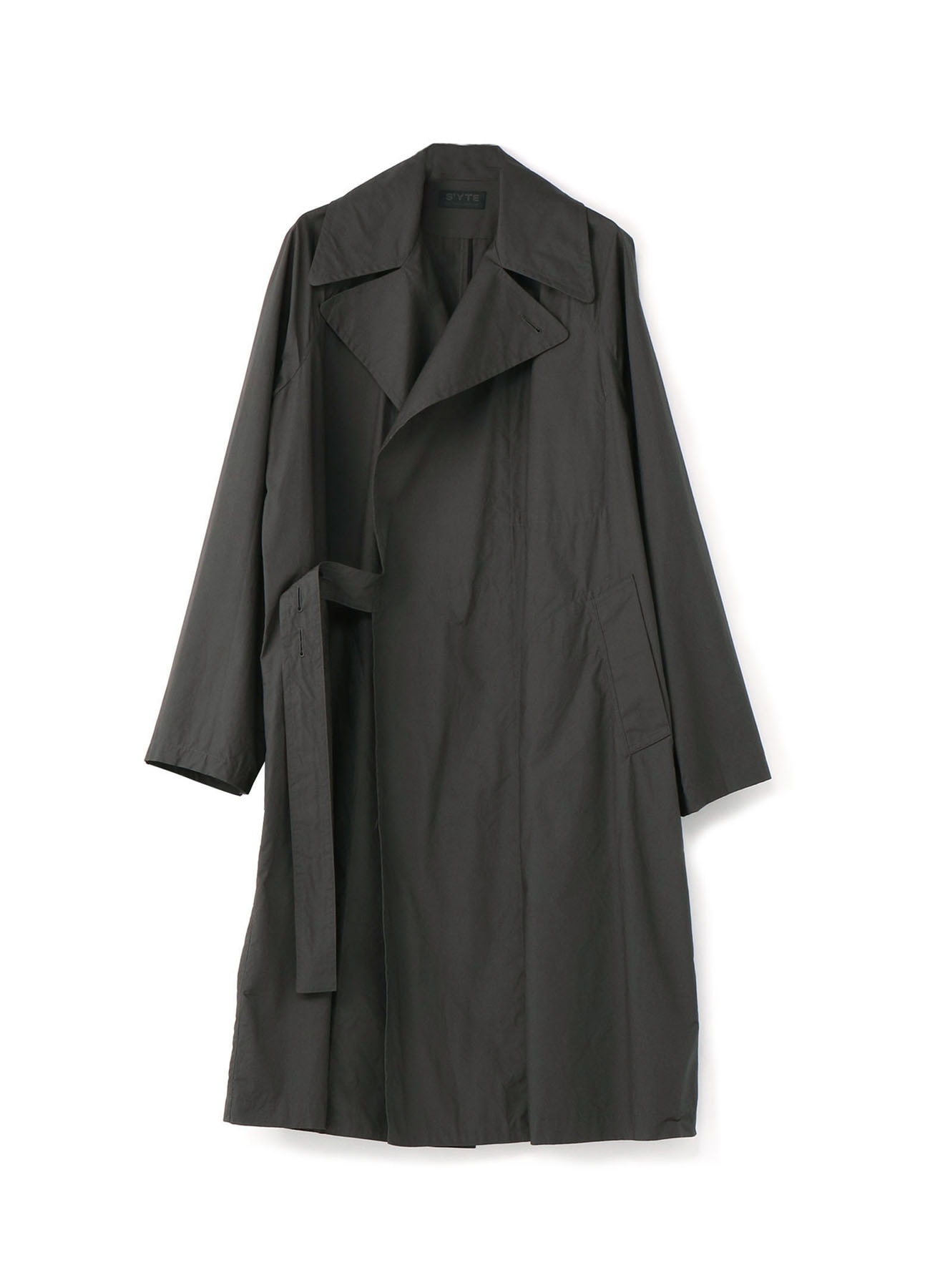 Cotton Typewriter Tielocken Coat