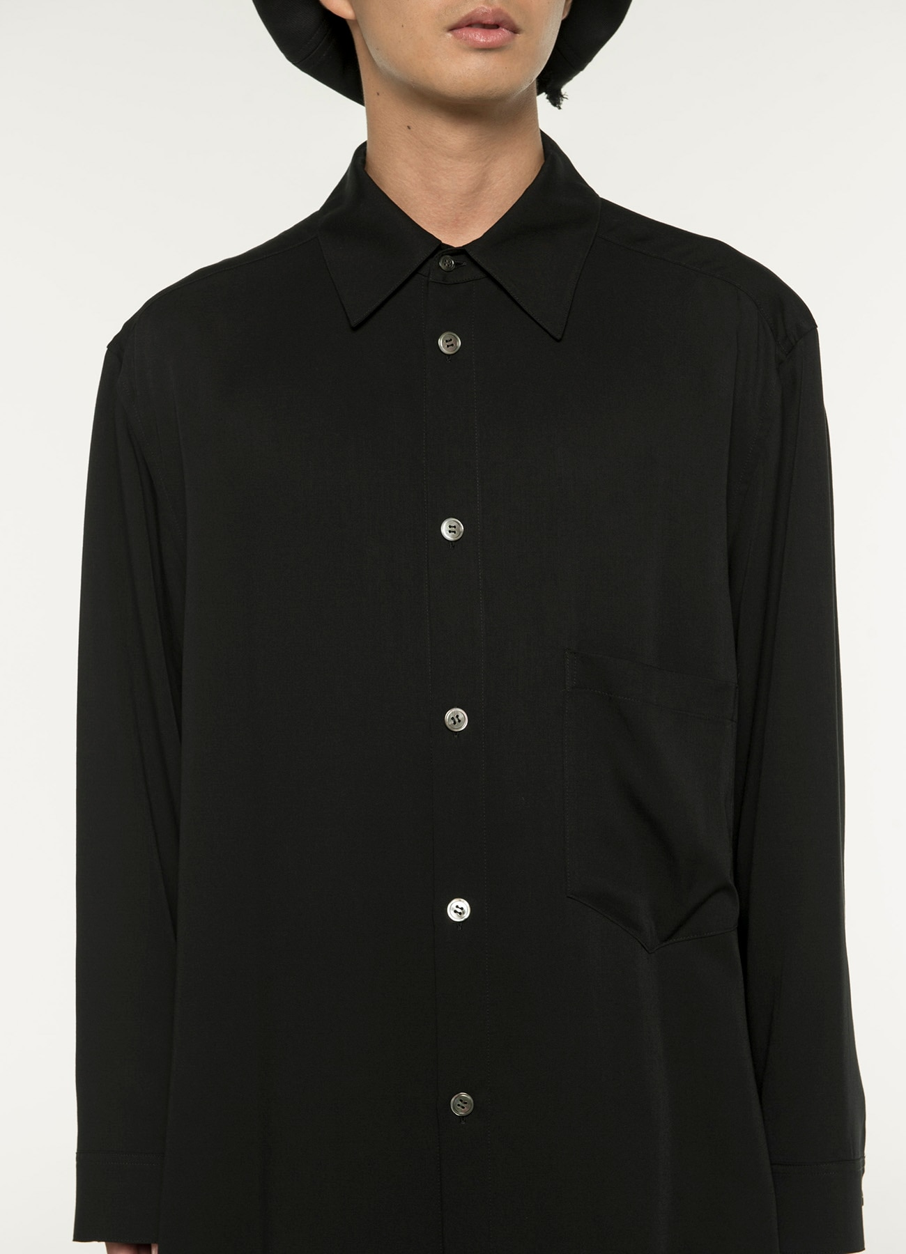 Lyocell Burberry Big Shirt