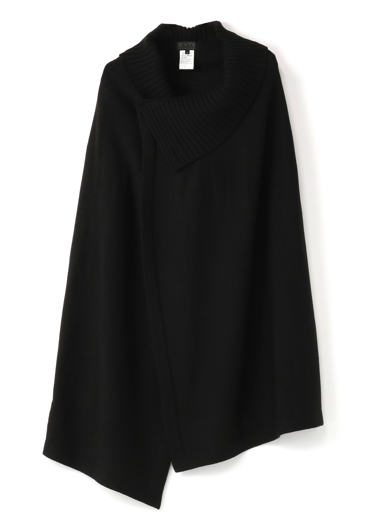 Queen's code 2WAY wrap skirt poncho
