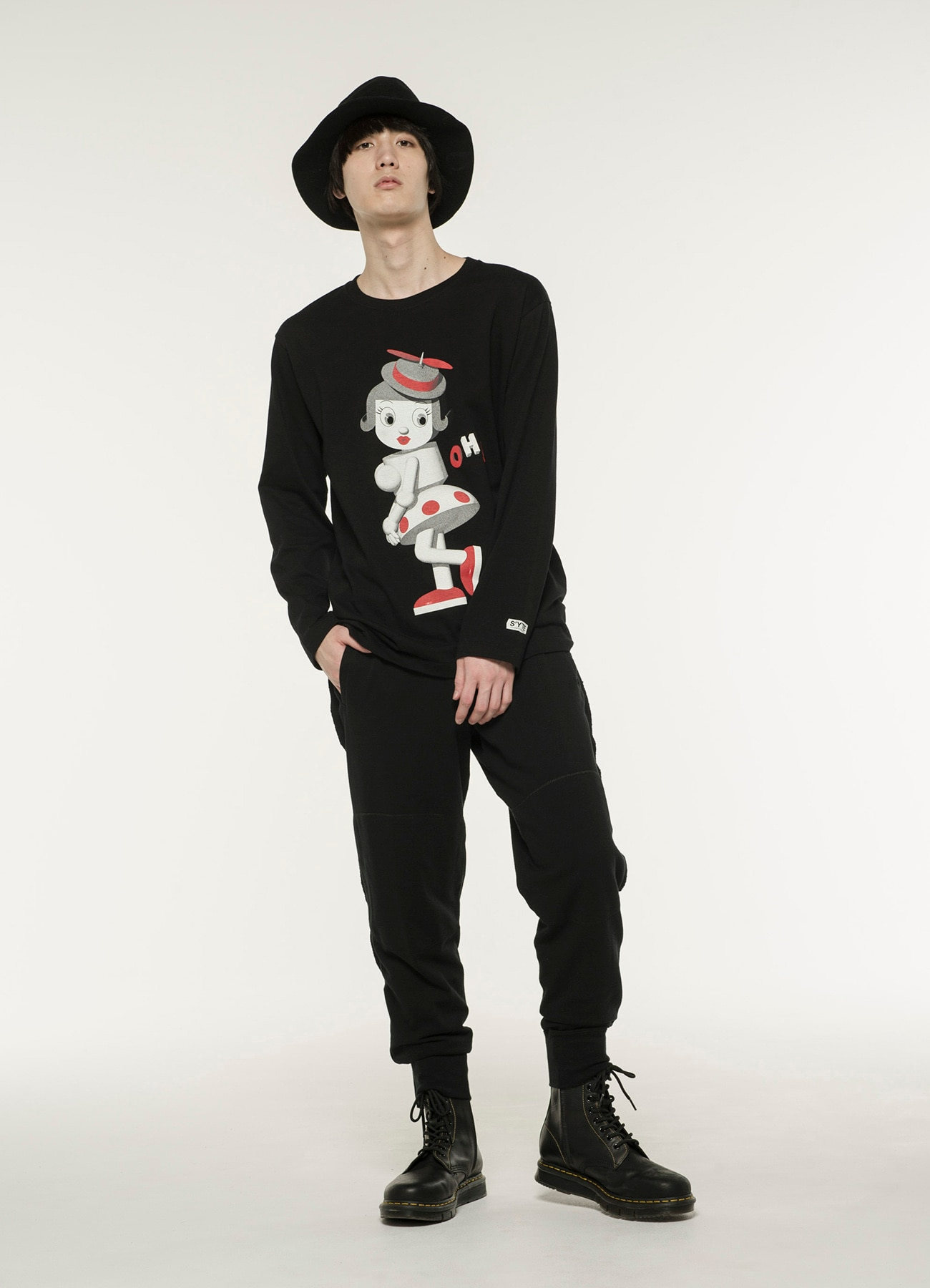 20/CottonJersey Oh!Puppy Long Sleeve T-Shirt