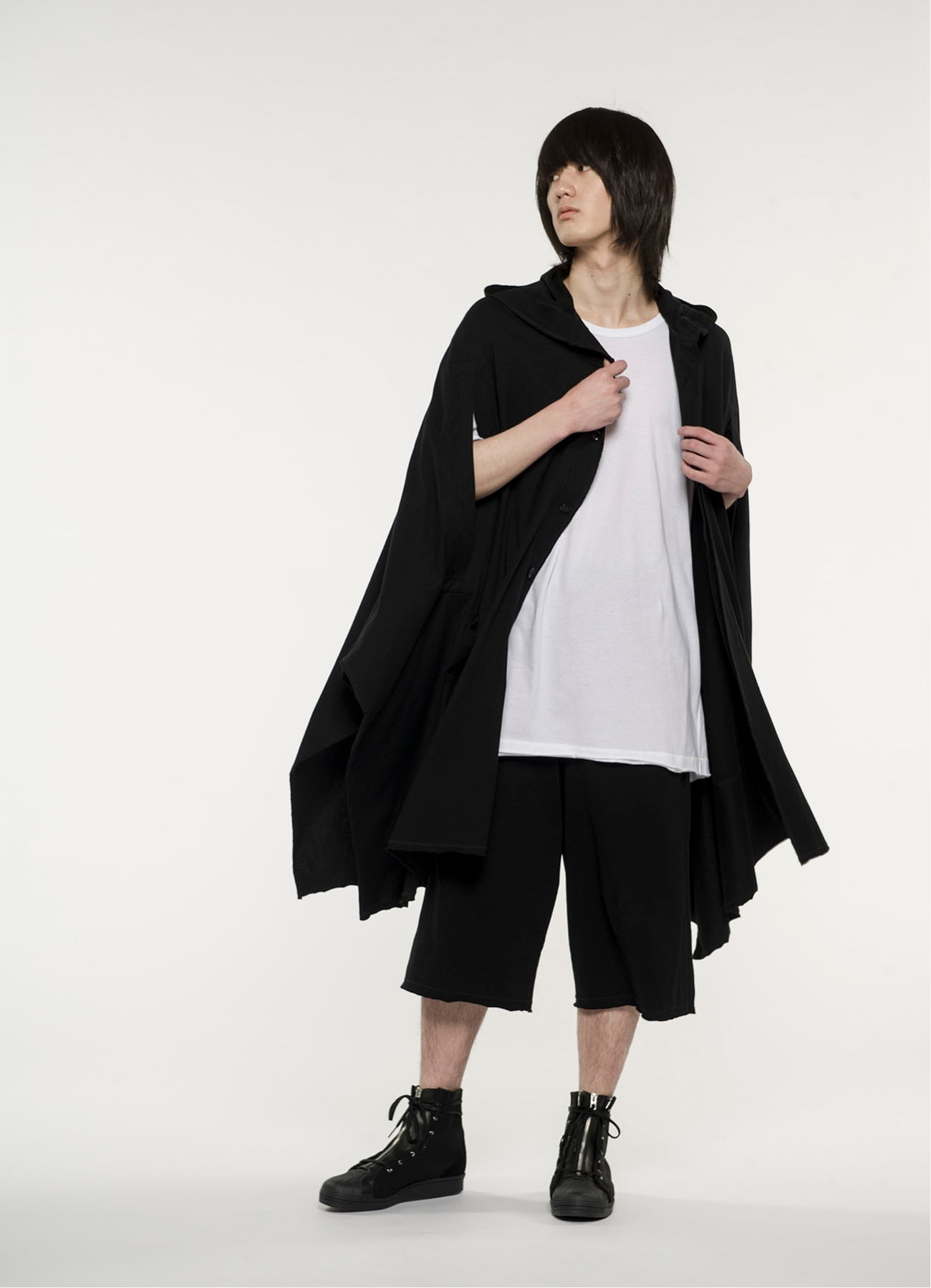 40/2Cotton Jersey Mantle Hoodie