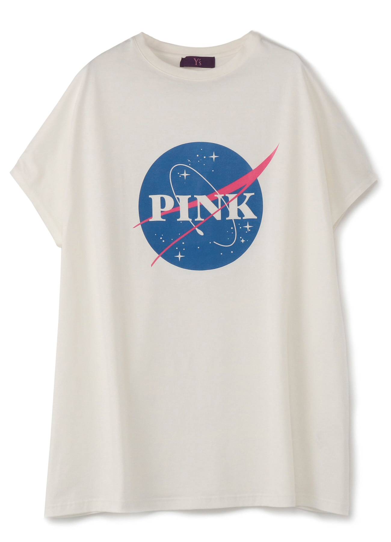 PINKプリントBIGTシャツ