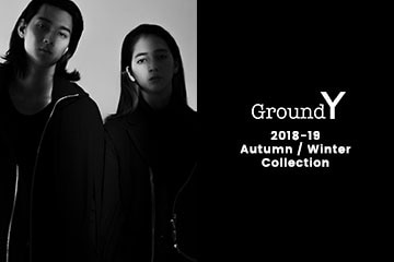【New Arrivals】Ground Y  2018AW Collection