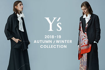 【New Arrivals】Y's  2018AW Collection