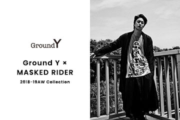【New Arrivals】Ground Y x MASKED RIDER