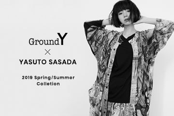 【New Arrivals】Ground Y x YASUTO SASADA